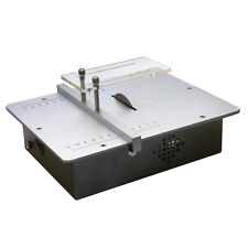 Micro Mini Table Saws Acrylic Cutting Machine Metal Model Sawing Woodworking Saw