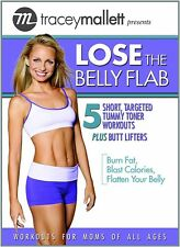 TRACEY MALLETT LOSE THE BELLY FLAB AB EXERCISE DVD NEW SEALED ABDOMINAL WORKOUT