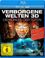 Hidden Worlds 3D Caves of the Dead NEW Documentary Blu-Ray Disc N Vander F Huber
