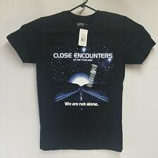 Close Encounters Of The Third Kind Men's Black Size Medium Movie Graphic T-Shirt