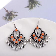 Fashion Bollywood Bohemian Silver Gold Plated jhumka Handmade Dangle Earrings