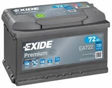 Batterie Exide EA722 Fulmen FA722 12v 72ah 720A 278x175x175mm varta E43 E44 E11