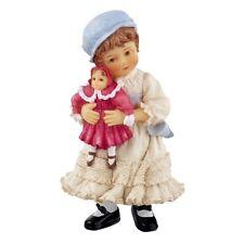 Poly resin Dolls house figure girl named Mary Jane