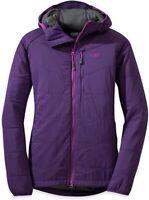 Outdoor Research Elderberry Uberlayer Hooded Jacket Women's Size XS 83906