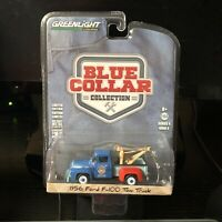 Greenlight | 1:64 Blue Collar Series 4 - 1956 Ford F-100 Tow Truck | Brand New