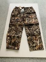 Frogg Toggs Classic Pro Action Realtree Max 4 waterproof hunting pants NEW XL
