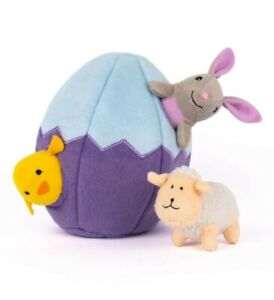 *NEW* Zippy Paws Easter Egg & Friends Burrow Toy For Dogs