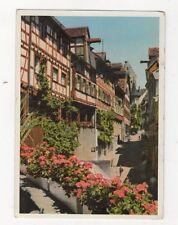 Meersburg Am Bodensee Steigstrasse Germany Postcard 444a