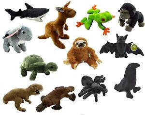 PLUSH ANIMAL x1 soft stuffed toy cute teddy doll kids birthday gift toys