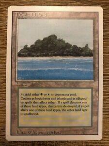 Magic The Gathering MTG Revised Dual Land Tropical Island NM - High Grade!!