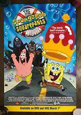 The SpongeBob SquarePants Movie poster large 27x40 original Paramus Pictures