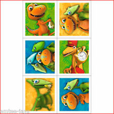 Dinosaur Train Stickers - Sealed Pack/4 Sheets - Birthday Party Favours Supplies