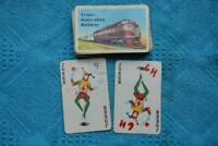 Promo Item Unused TRANS-AUSTRALIAN RAILWAY TRAIN PLAYING CARDS RARE 1 x Deck