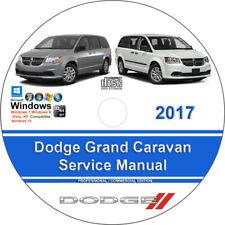 Dodge Grand Caravan 2017 Factory Workshop Service Repair Manual