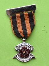 Vintage Hampshire Archery Association enamel Sporting Club Medal / pin badge