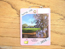 2015 MASTERS GOLF AUGUSTA NATIONAL BADGE TICKET JORDAN SPIETH WINS VERY RARE