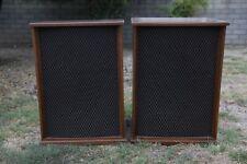 Altec Lansing A7-500W Voice of the Theater Speakers Pair Lattice Wood Enclosure