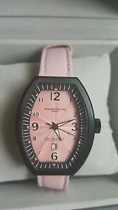 Montres De Luxe Watch Estremo Ladys Steel Sunray pink Dial Date EXL A 8304 new