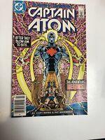 Captain Atom (1987) # 1 (VF/NM) Canadian Price Variant CPV...1st App !