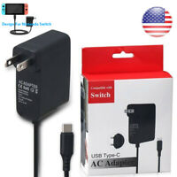 AC Adapter Power Supply Wall Travel Charger For Nintendo Switch 110V-240V 2.4A