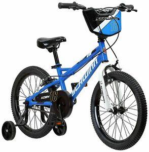 Schwinn Koen Boys Bike for Toddlers and Kids 18 inch Wheels Blue BMX Style