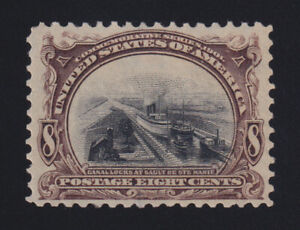 US Pan American Stamp Scott #298 MH **XF Centering** Catalog Value $90.00+