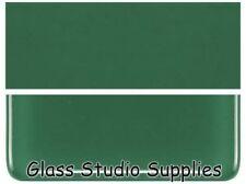 Bullseye Thin Forest Green Kiln Fusing Glass 141-50