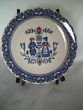 Staffordshire Old Granite Hearts & Flowers Johnson Bros. Bread & Butter Plate