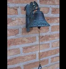 Bronze, Skulptur, Gartenglocke, Dekoration für ihren Garten *