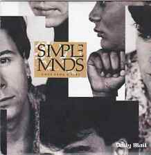 SIMPLE MINDS ONCE UPON A TIME PROMO CD ALBUM