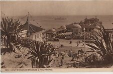 POSTCARD SUSSEX HASTINGS White Rock Band Enc & Pier
