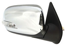 NEW DOOR MIRROR for HOLDEN RODEO RA 2003-2008 ELECTRIC CHROME W/INDICATOR RIGHT
