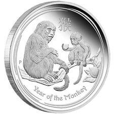 MONKEY AUSTRALIAN LUNAR 2016 1/2 oz Silver PROOF Coin - OGP - BOX & COA