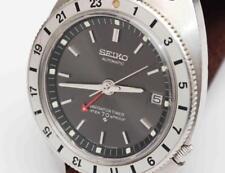 1969 vintage SEIKO 6117-8000 AUTOMATIC NAVIGATOR TIMER Mens Wristwatch