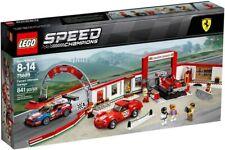 Lego VELOCIDAD CAMPEONES (75889) Ferrari garaje Ultimate (totalmente Nuevo, sellado de fábrica)