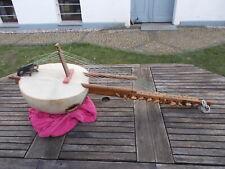 Afrikanisches Instrument grosses Saiteninstrument rare Vintage