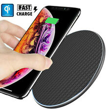 10WAnti-Slip Qi Wireless Charger Fast Charging Pad for iPhone Xs Max Samsung S10