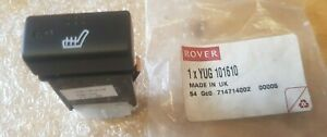 ROVER 45 (New) HEATED SEAT SWITCH R/H YUG101610