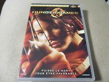 "DVD ""HUNGER GAMES 1"" Jennifer LAWRENCE, Josh HUTCHERSON, Liam HEMSWORTH"