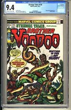 Strange Tales #170  CGC 9.4 OWW NM  Marvel Comics 1973  2nd app Brother Voodoo