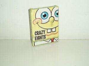SpongeBob Squarepants Crazy Eights card game. 2009