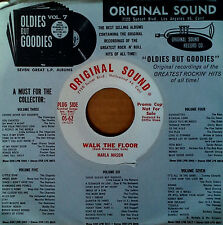 MARLA MASON - WALK THE FLOOR b/w OVER AND OVER AGAIN - ORIGINAL SOUND - WLP 45