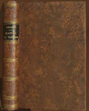 [RARE]  Comte ODART MANUEL du VIGNERON . Exposé des divers procédés de .....