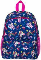 Printed Fingerlings Unicorn Backpack for Girls School Bag with Baby Unicorns