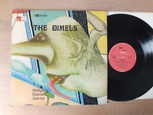 Wolfgang Dauner Quintet - The OIMELS  MPS 15248  rare 1st press LP 1969  LP  vg+