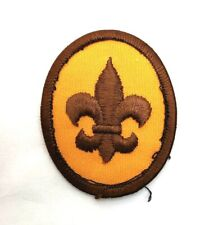 BSA Boy Scout Insignia Patch Oval Embroidered