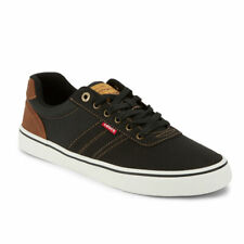 Levi's Mens Miles Tumbled Wx Synthetic Leather Casual Lace-up Sneaker Shoe