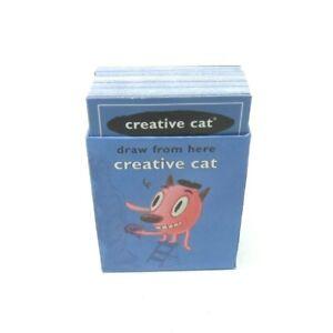 2005 Cranium Family Fun Board Game Replacement Parts Pieces- Creative Cat Cards