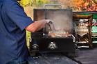 Pit Boss Portable Tabletop Pellet Grill, Copper photo