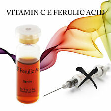 VITAMIN C E FERULIC ANTI WRINKLE Derma Roller stamp Micro needle Skincare SERUM